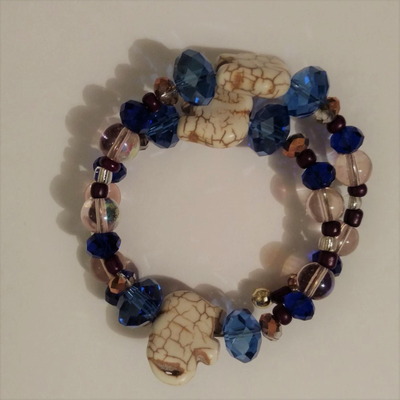#JW-B 190007 Elephant Bracelet  Suggested $20 USD