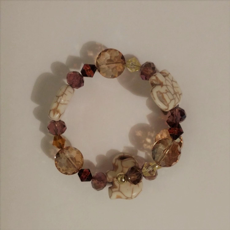 #JW-B 190008 Elephant Bracelet  Suggested $22 USD