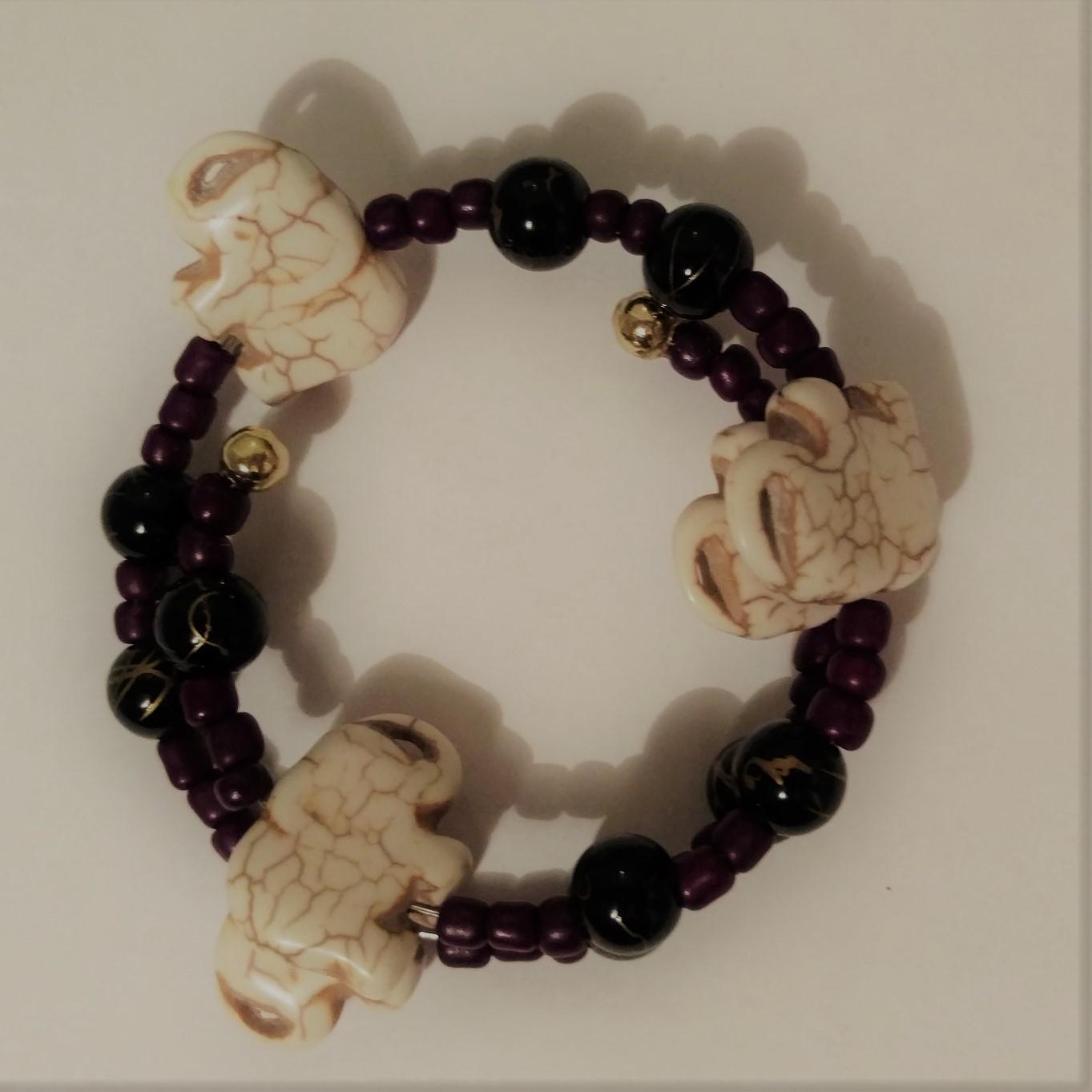 #JW-B 190020 Elephant Bracelet  Suggested $15 USD