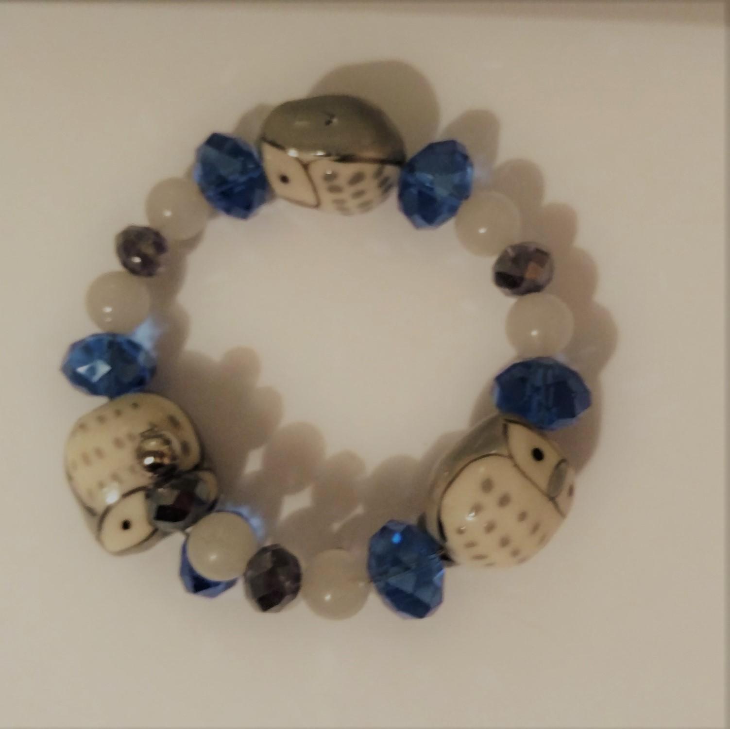 #JW-B 190022 Owl Bracelet  Suggested $22 USD