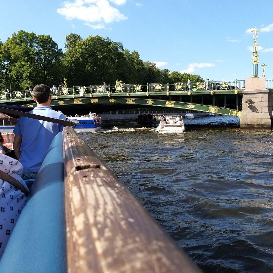 St. Petersburg - Ornate Bridge