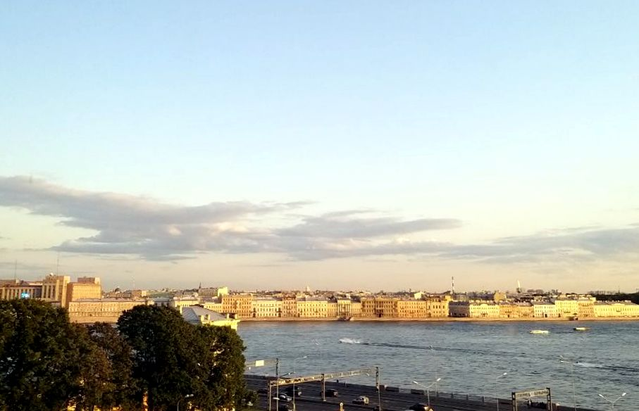 St. Petersburg - View from Hotel Room