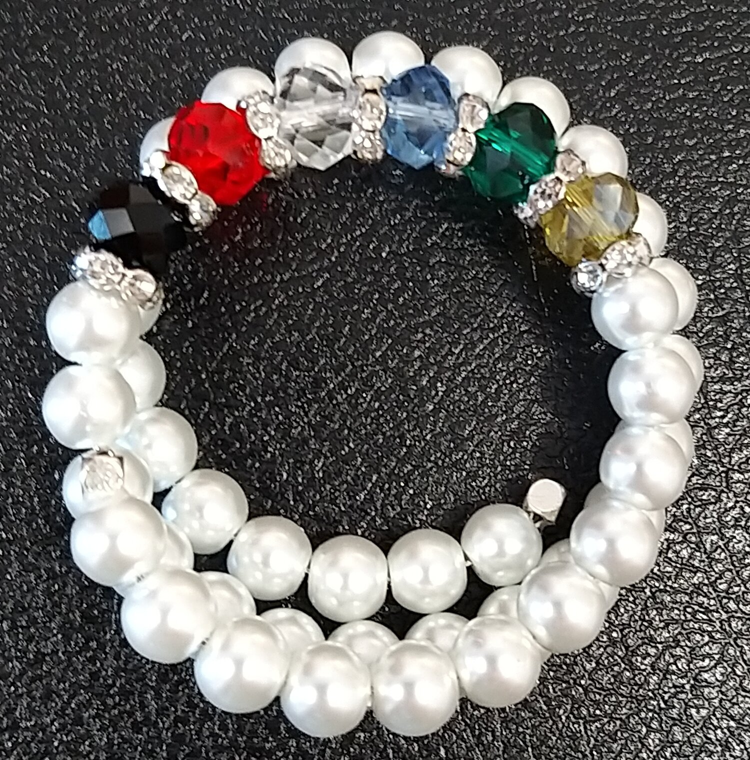 #AL-B 190913 - Pearl BRACELET_Double  suggested $100 usd - Terms Available