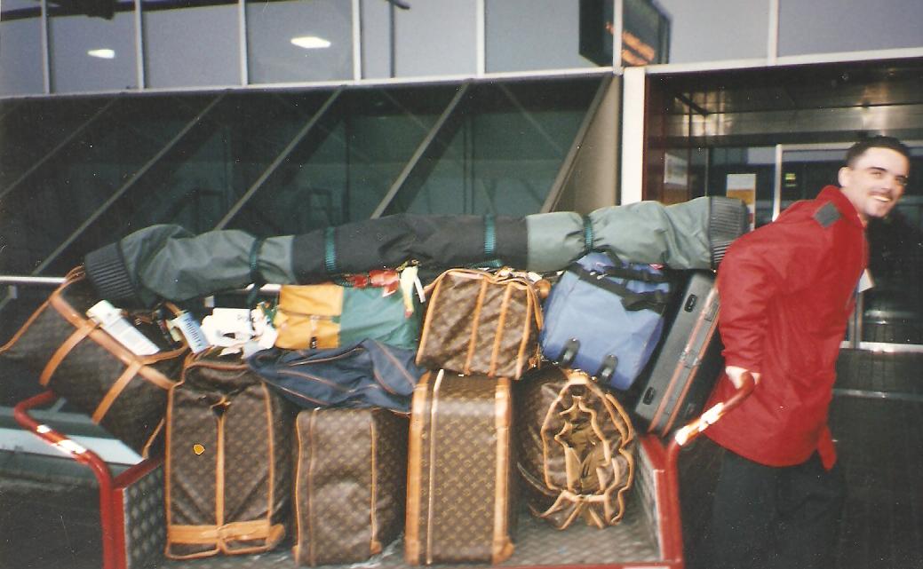 5kg Luggage Challenge