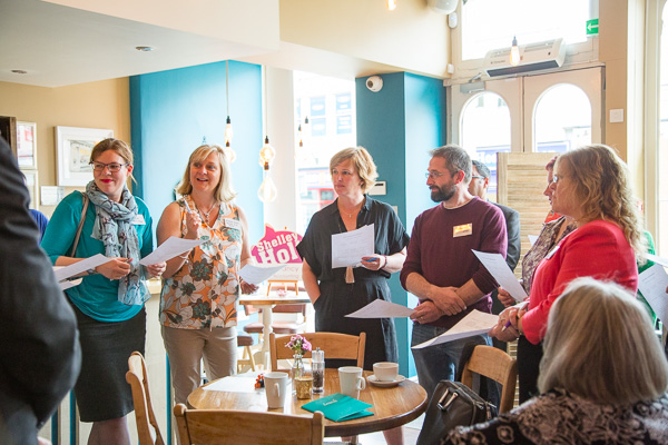Image of group at Inspire and Connect