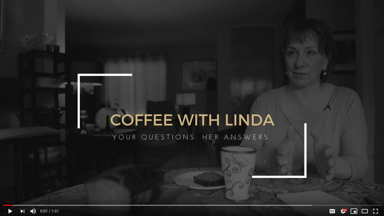 Linda Bussey 2015 Yellowknife Municipal Election video series #coffeewithlinda
