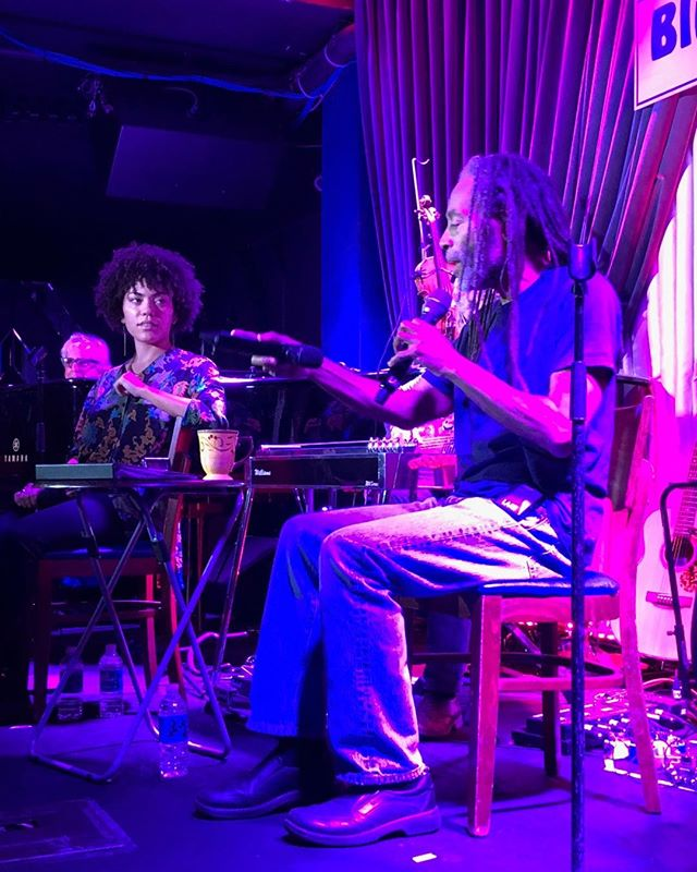 Bobby McFerrin and daughter Madison at the Blue Note. #DivineMusix