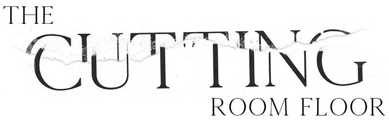the cutting room floor logo design