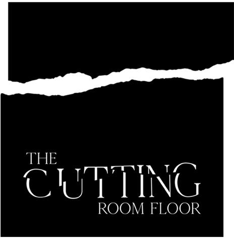 the cutting room floor logo design 6