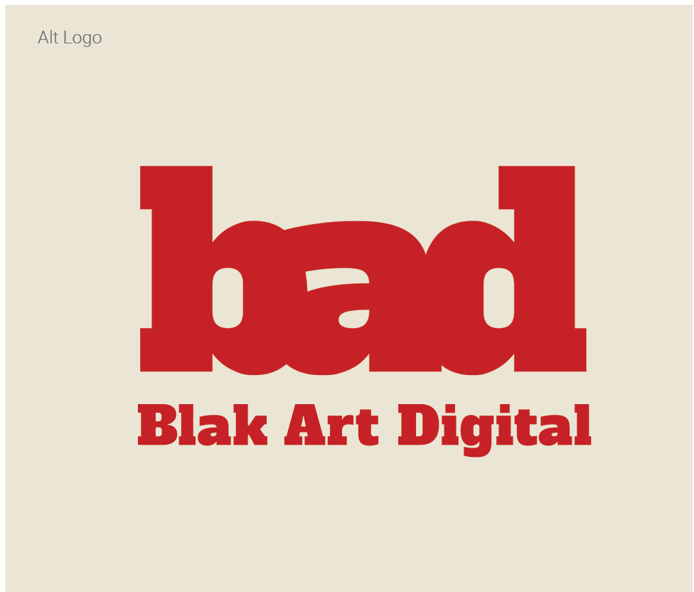 blak art digital logoset