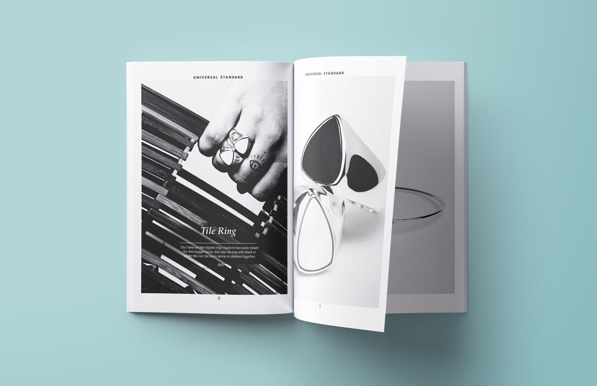 lookbook design 1