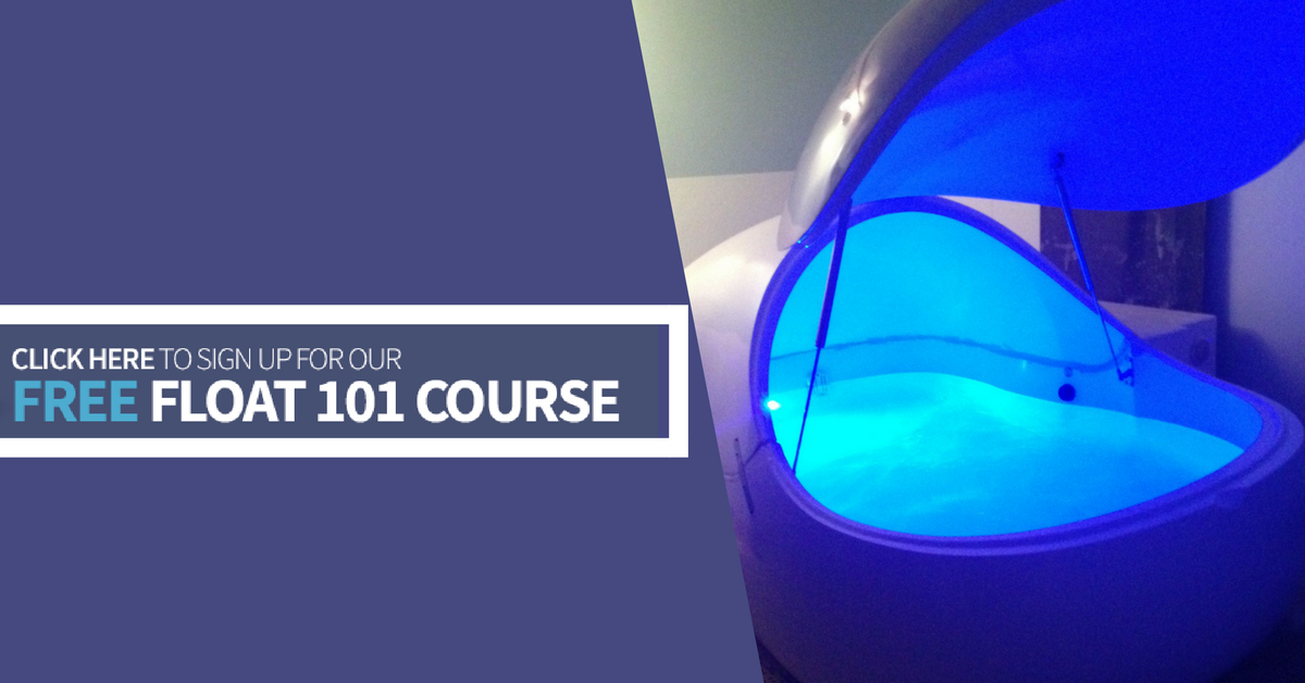 Learn more about the health and wellness benefits of floating by reserving your spot in our Free  Float 101 Email Course  today!