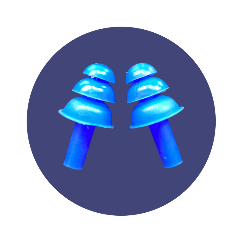 One set of Earplugs