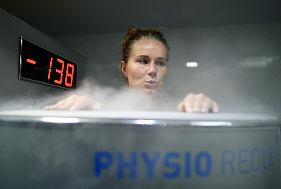 "Photo taken from Forbes Magazine Article: "" What's the cold, hard facts on cryotherapy? """