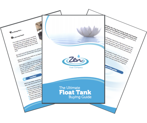 Quality Float Tanks For Home Use Zen Float Co