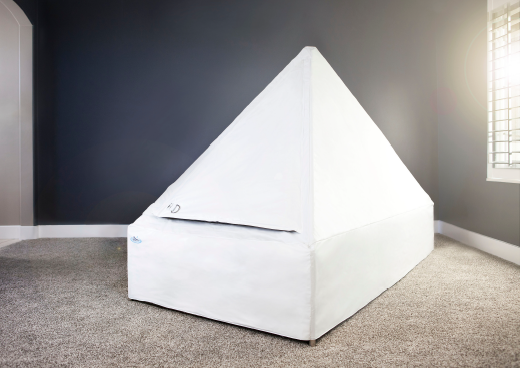 Shape - This is where the signature Zen pyramid design originated. The shape allows condensation from the warm-water to run down the sides and back into the tub, preventing water from dripping off the ceiling and interrupting your float.