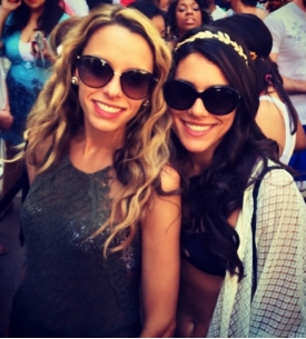 Brianna and her sister Nicole