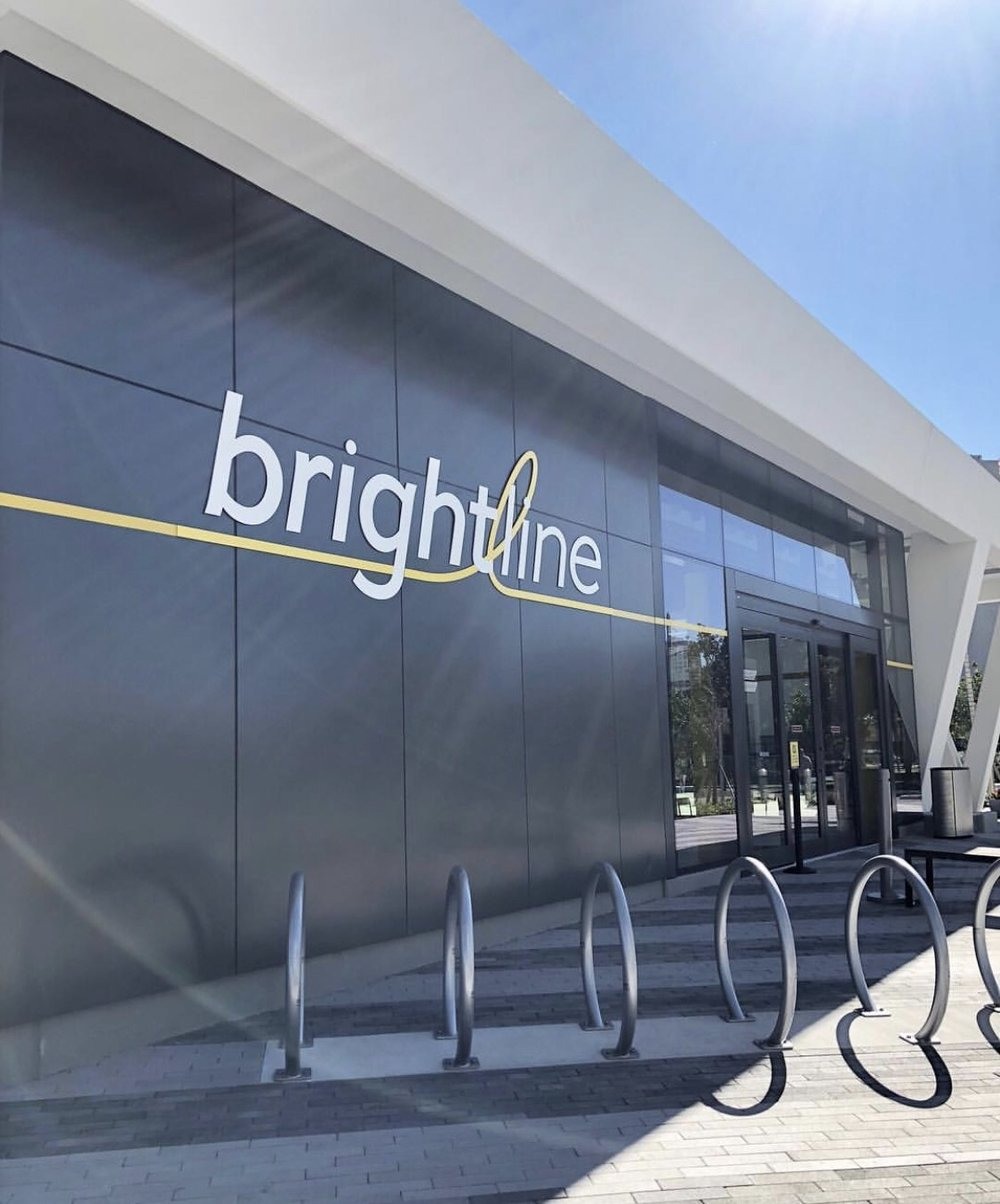 Photo from the GoBrightline Instagram