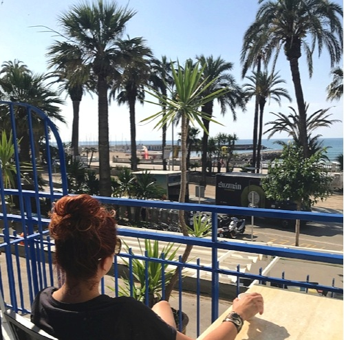 Lori Gizz Relaxing in Sitges