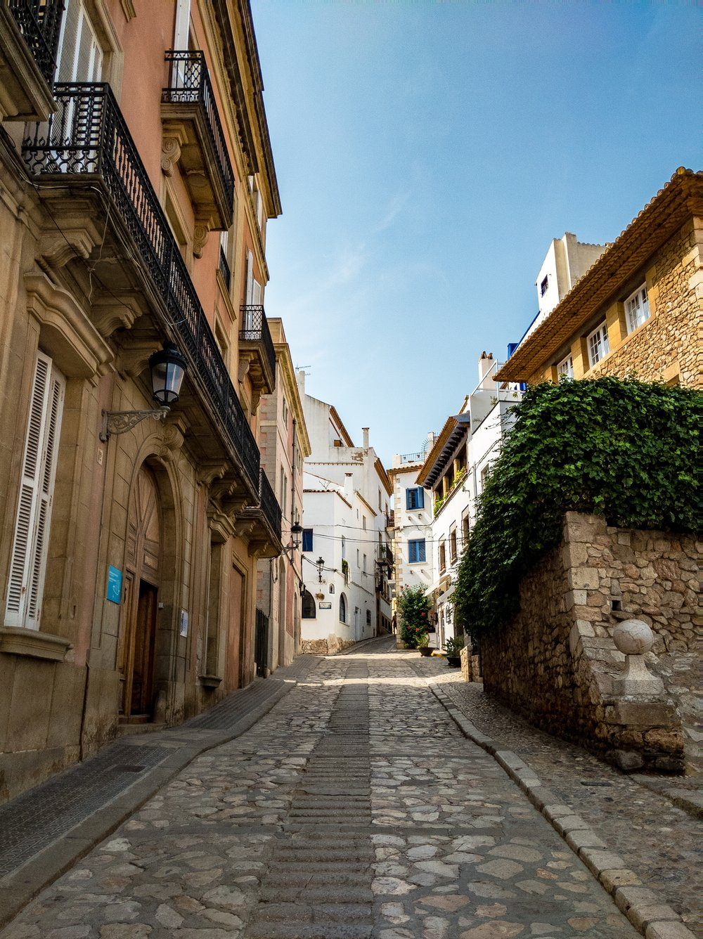 A Side Street In Sitges