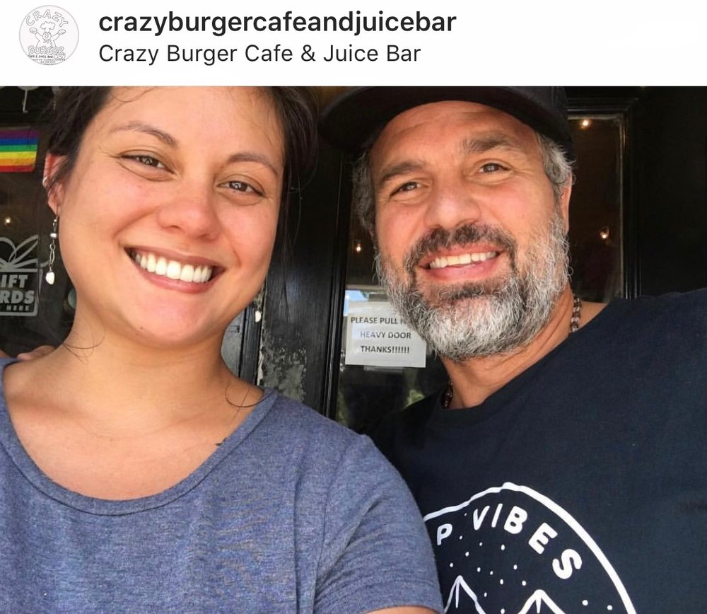 Photo courtesy of the  Crazy Burger Instagram