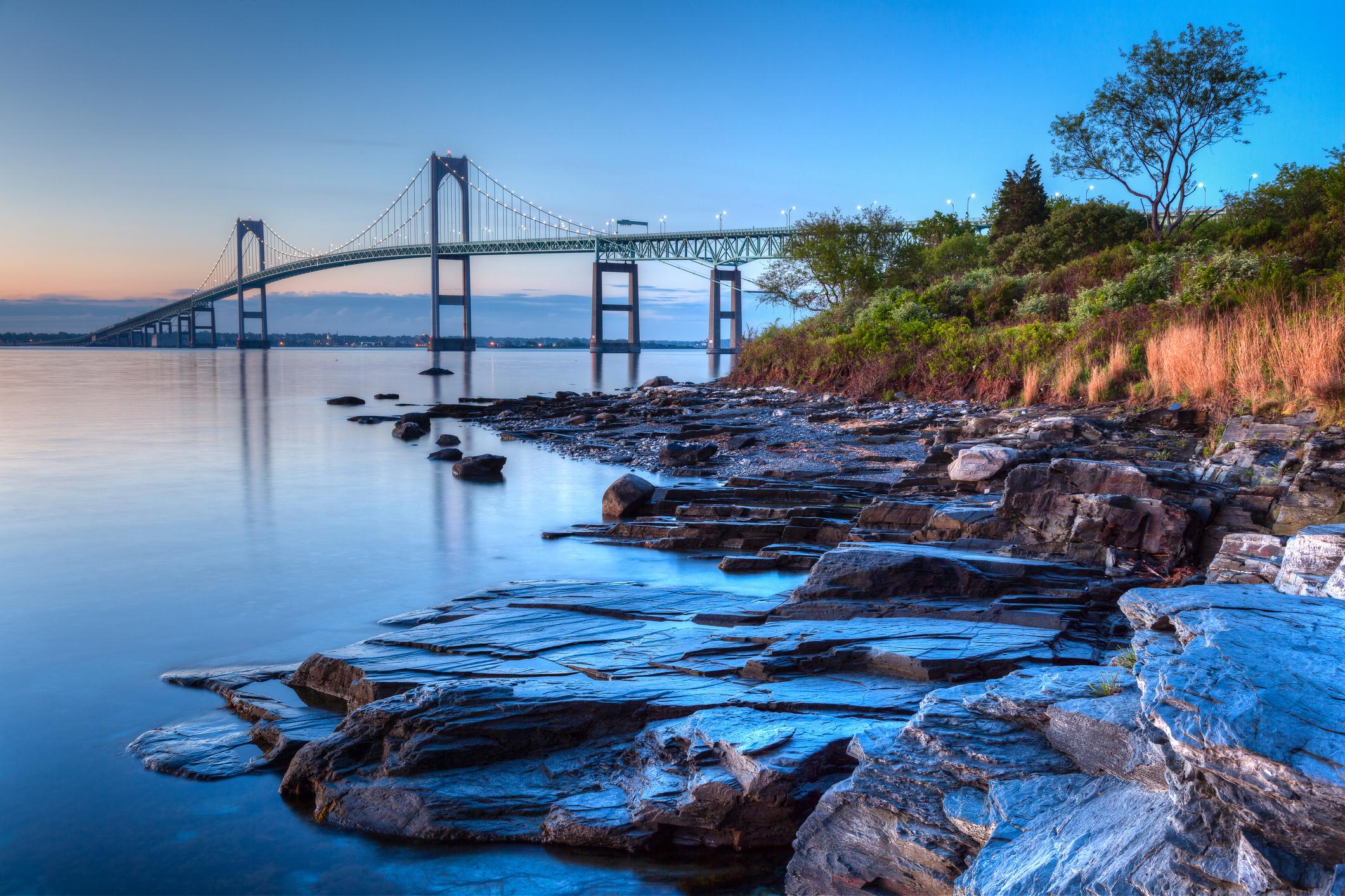 Newport Sunrise Photo by mcdonojj/iStock/Getty Images