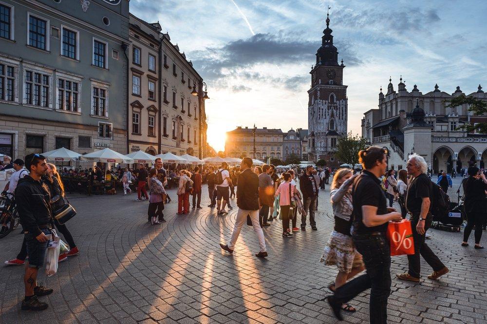 Krakόw, Poland