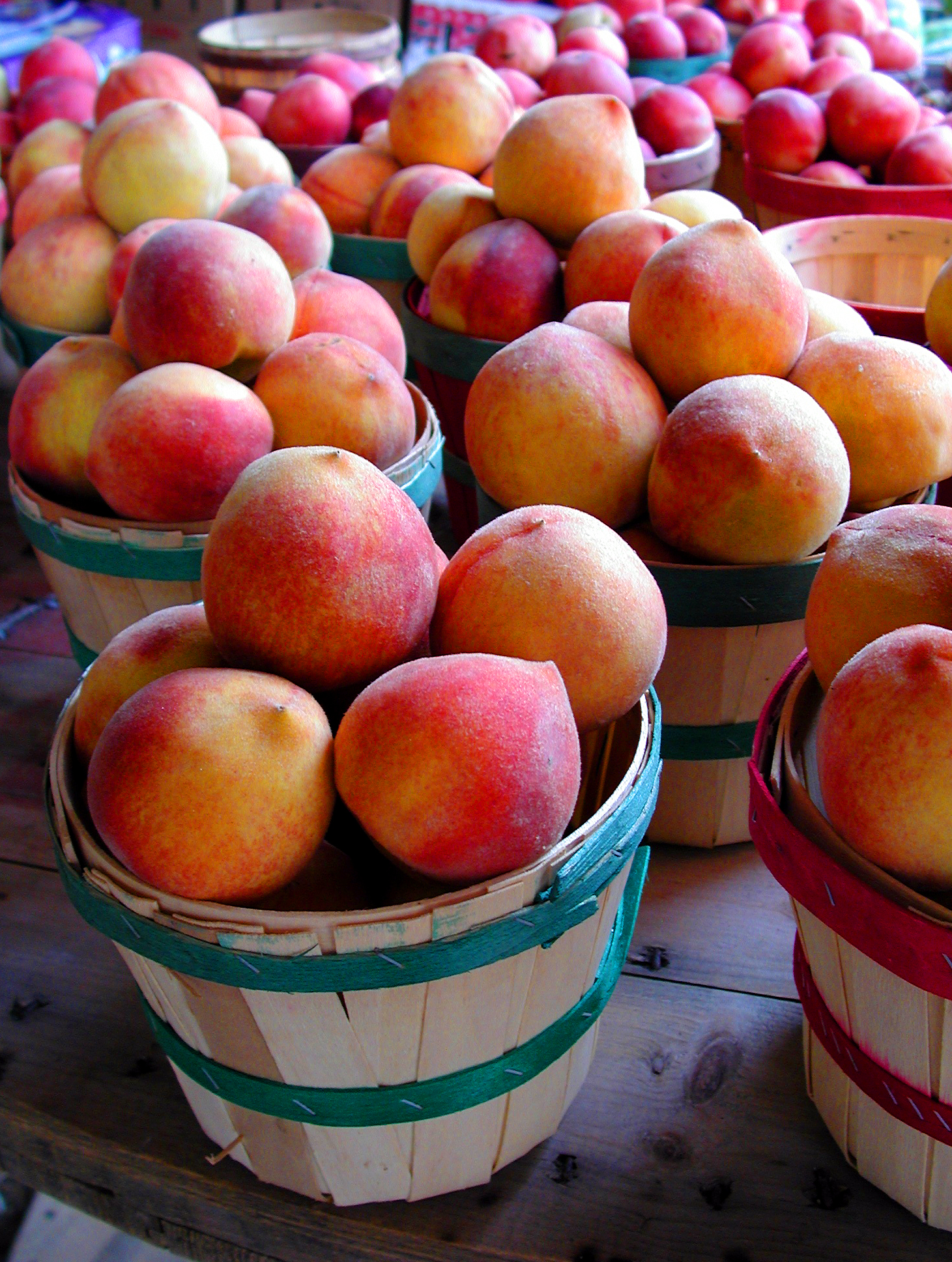 Georgia Peaches Photo by mstroz/iStock/Getty Images
