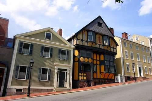 Thomas Street On Providence's East Side; Photo by Coleong/IStock/Getty Images