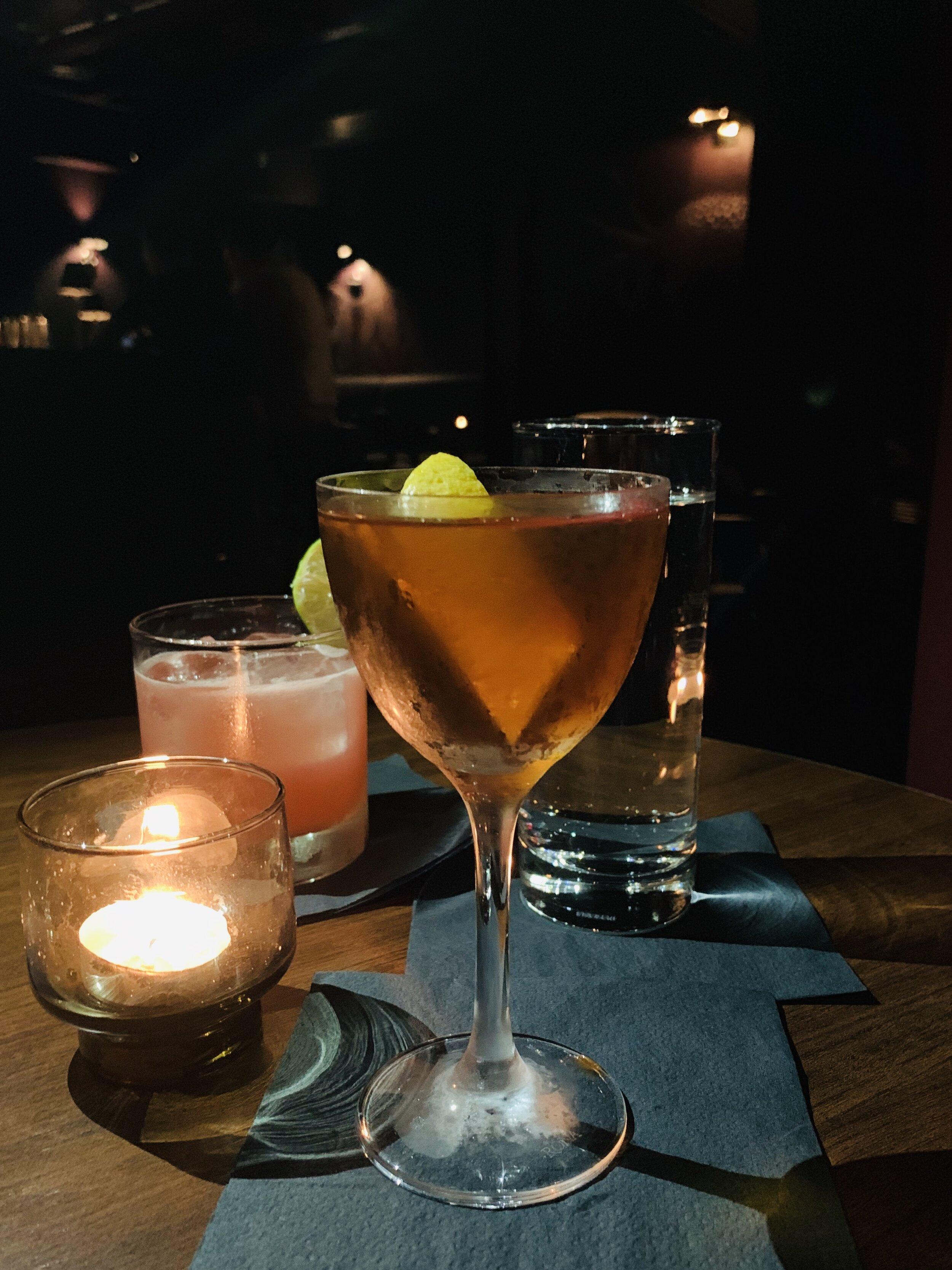 Drinks Last Night At The Dean Bar