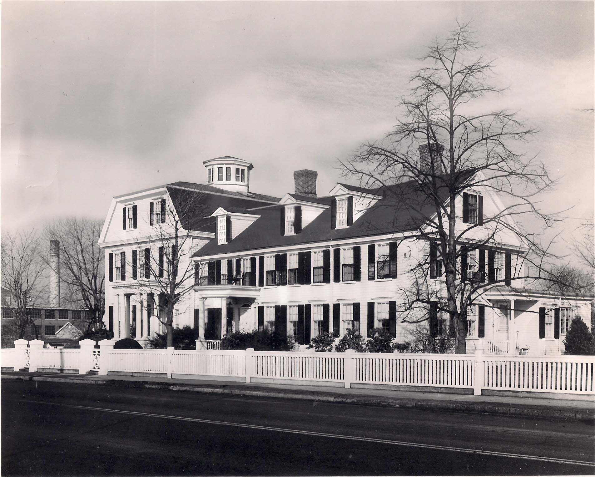 Governor William Sprague Mansion, located at the corner of Cranston Street and Dyer Avenue in Cranston, RI (Photo courtesy of the Cranston Historical Society Facebook Page)