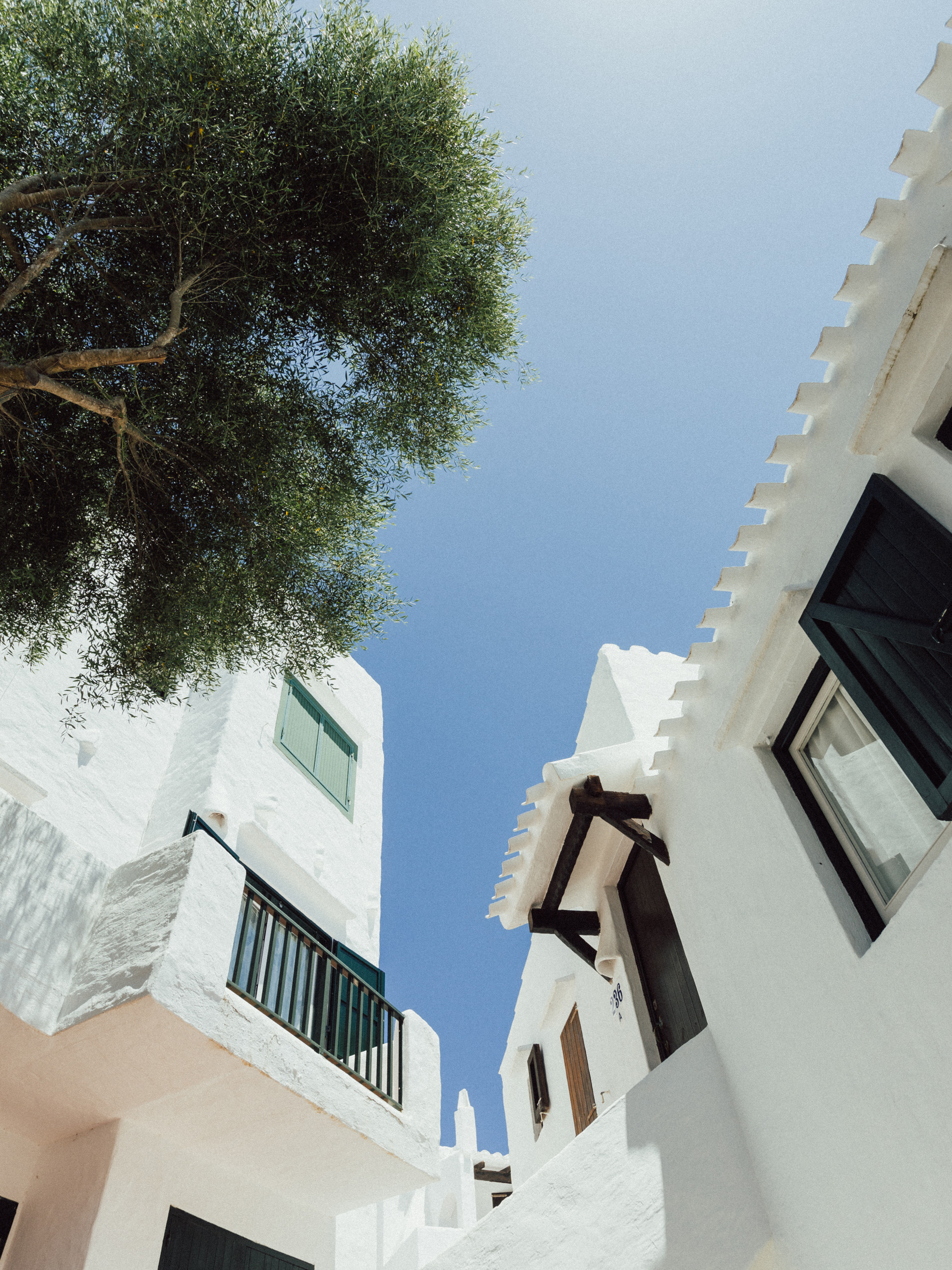 White houses of Binibequer