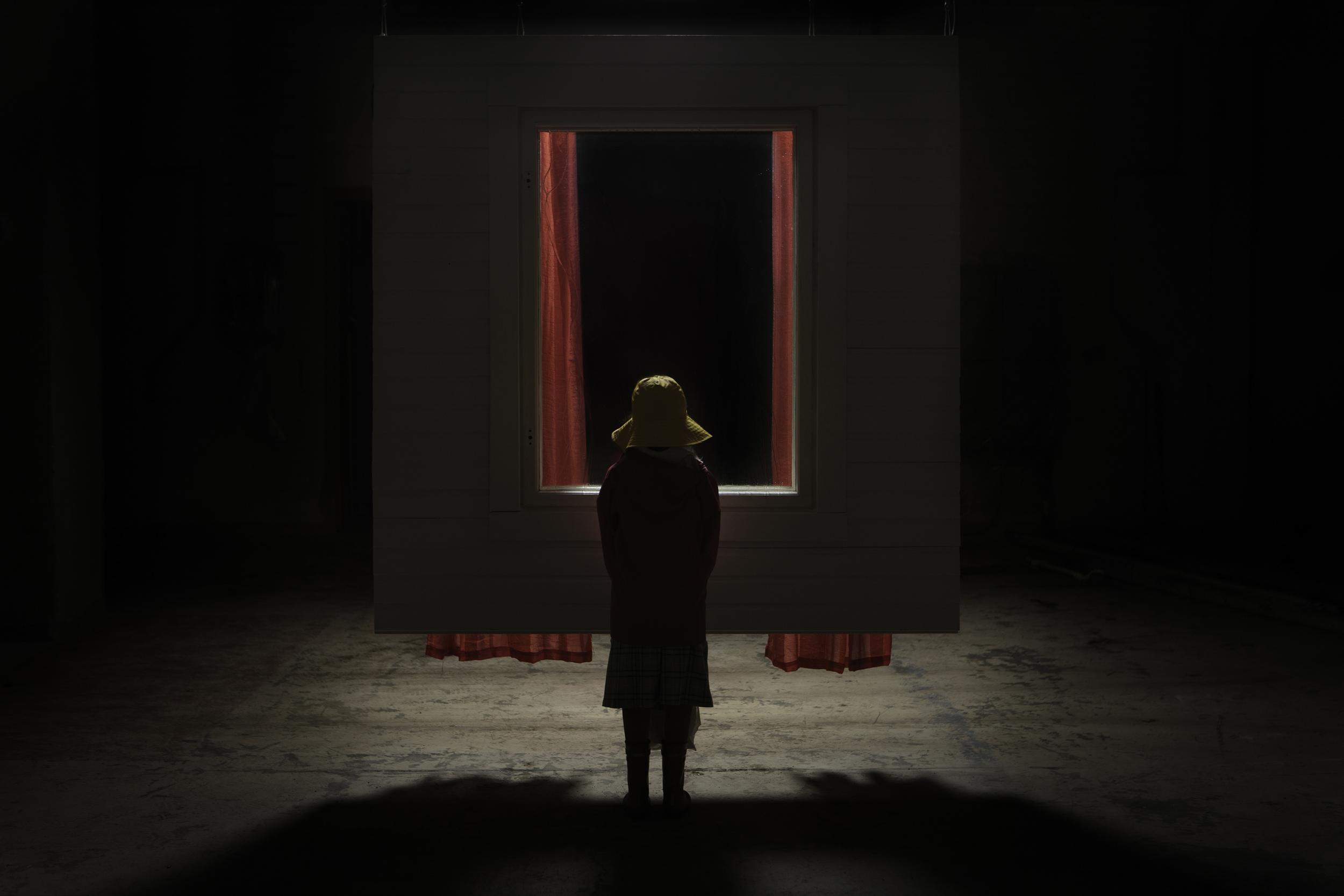Jarno Vesala:  Raining Behind the Window,  installation view, 2013