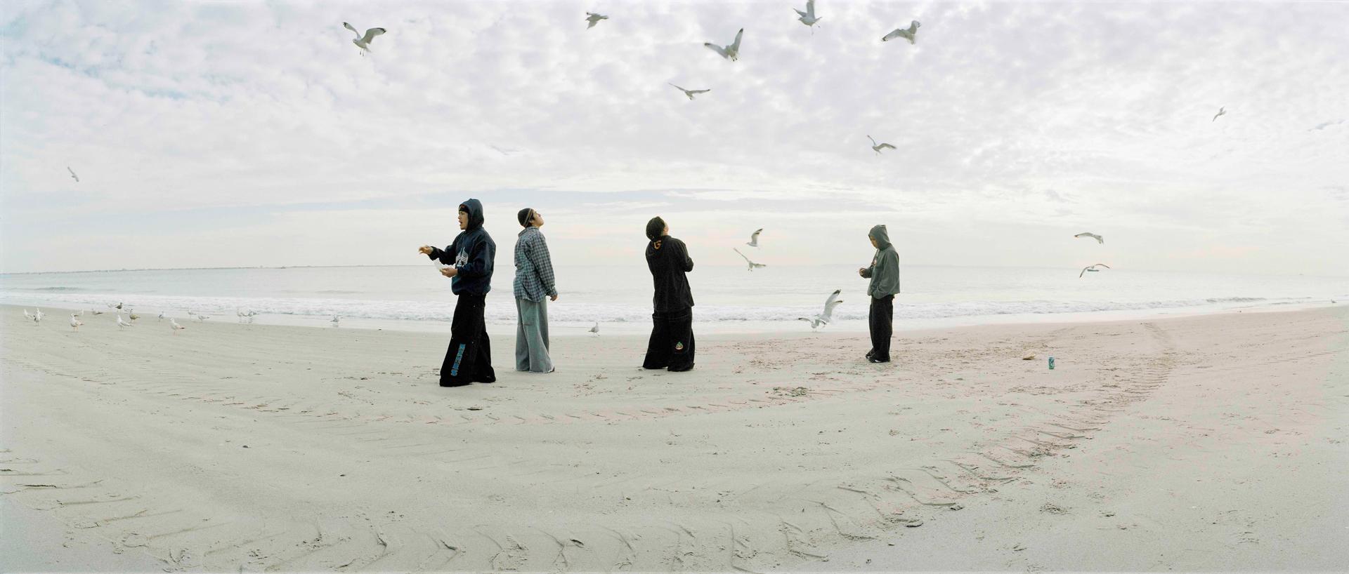 Jaakko Heikkilä: from the series  Innocent Shores  (Coney Island, New York), 2003