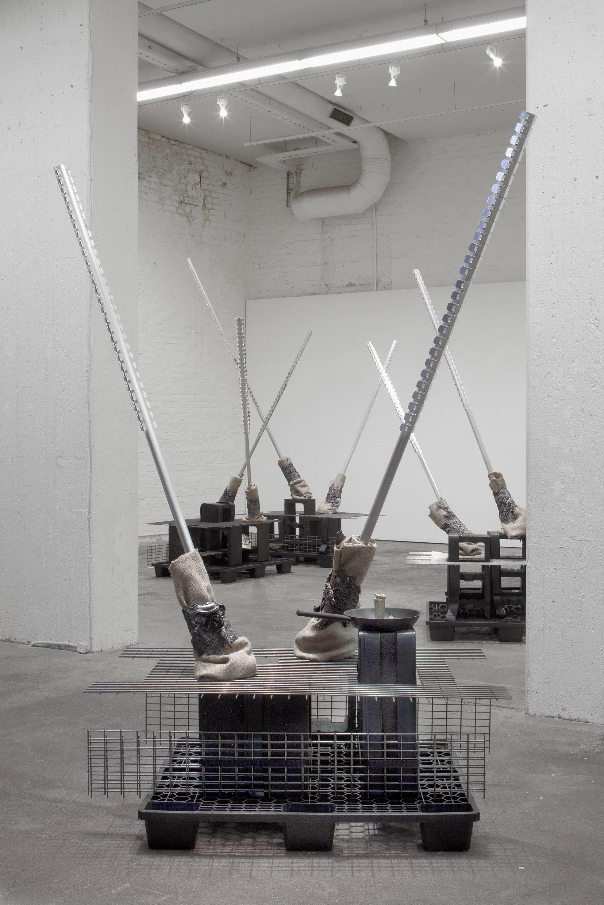 Riikka Puronen: Debbie & Mick, 2012, installation view