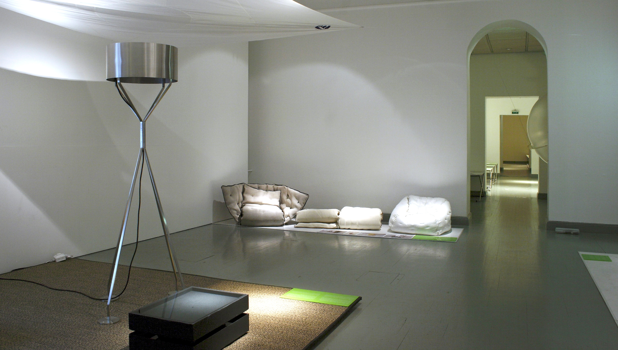 Sauma installation view from Helsinki