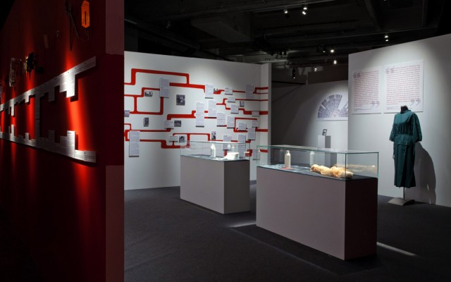 Terike Haapoja:  The Museum of the History of Cattle , installation view, 2013