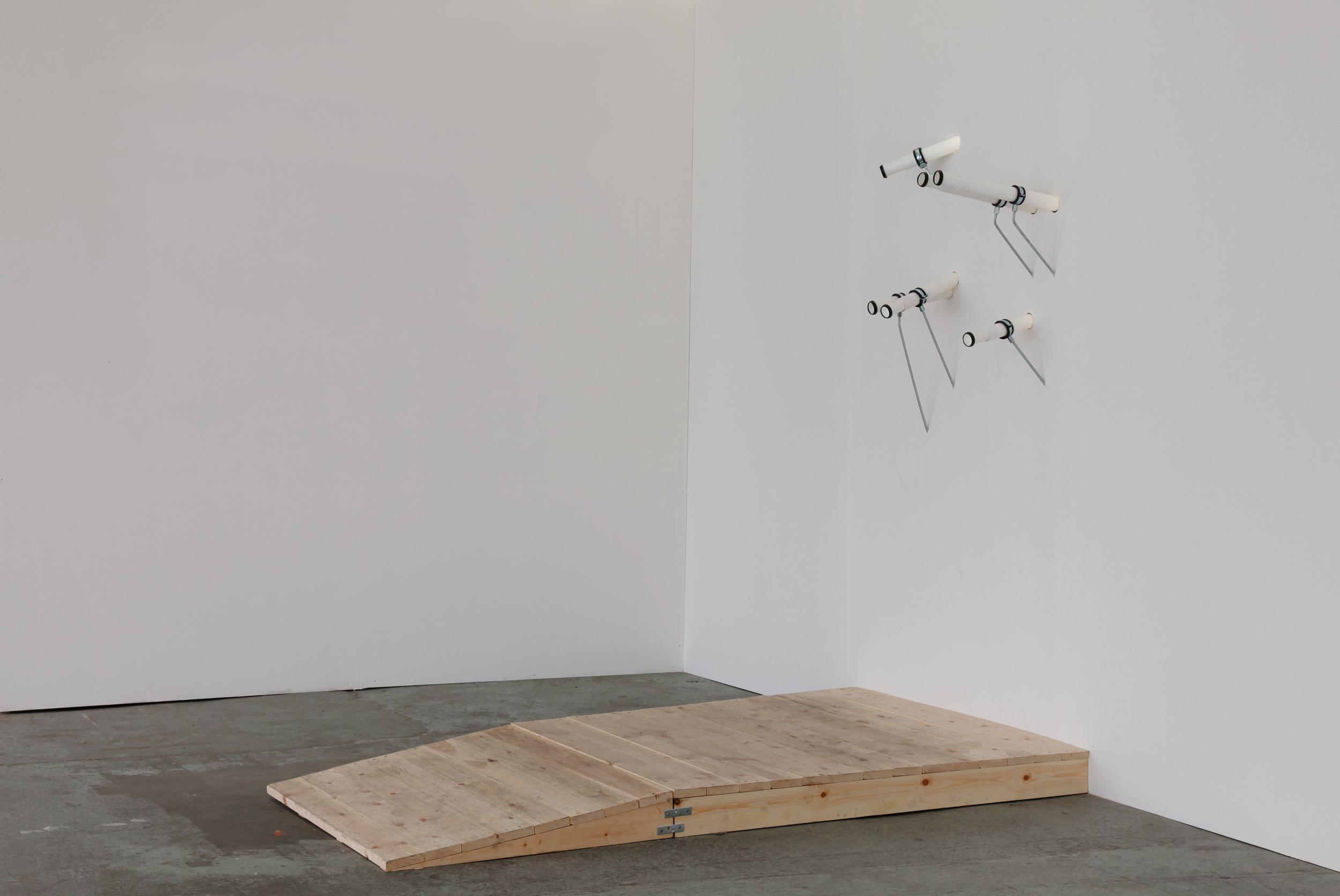 Minna Pöllänen:  Points of View , 2014, mixed media