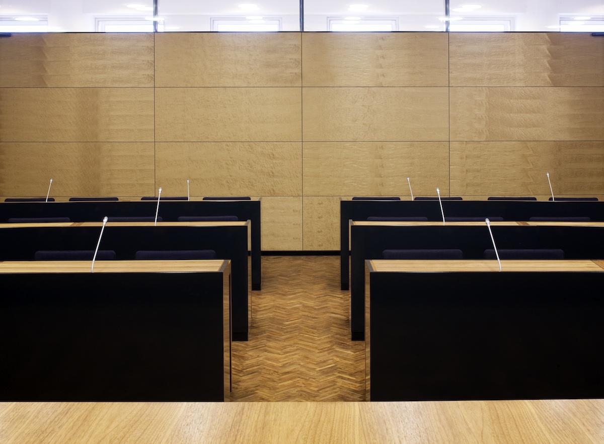 Paula Salonen / JKMM Architects: Interior design for Helsinki Court of Appeal, 2008–2011. Photo: JKMM Architects