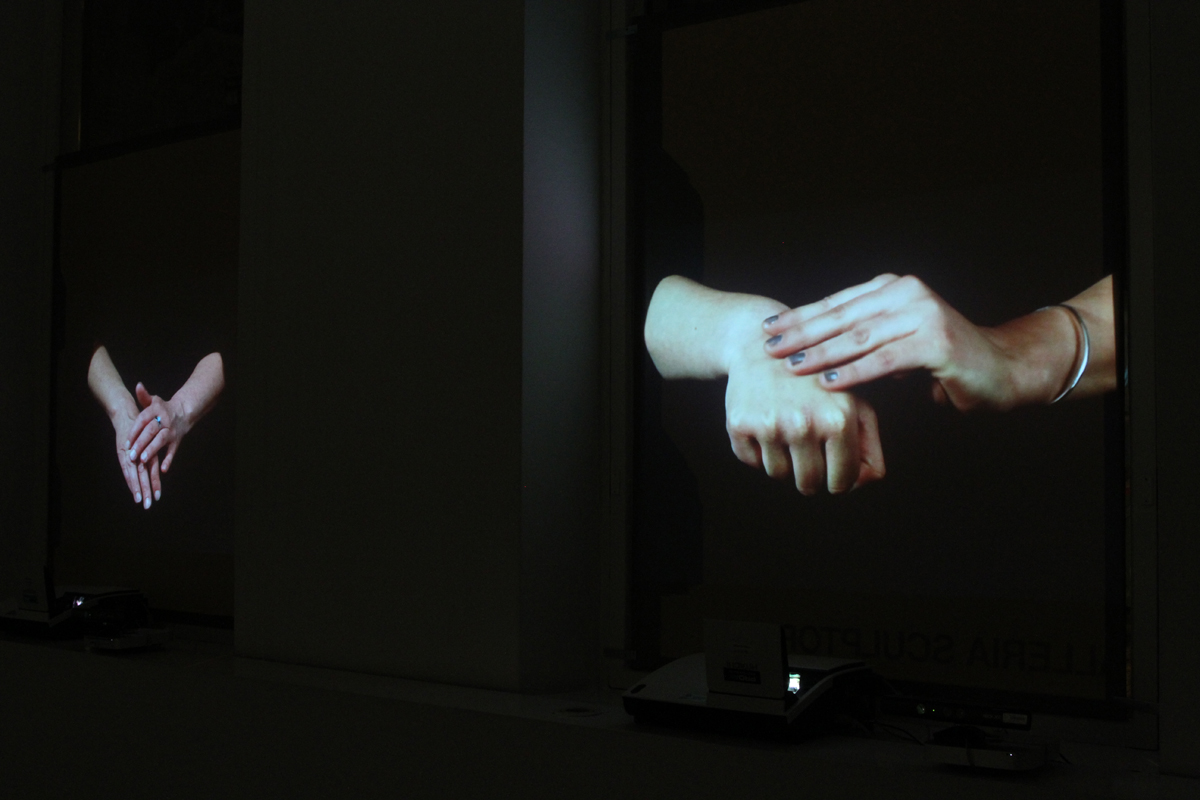 Heidi Tikka: At Hand, Video Installation, 2014.
