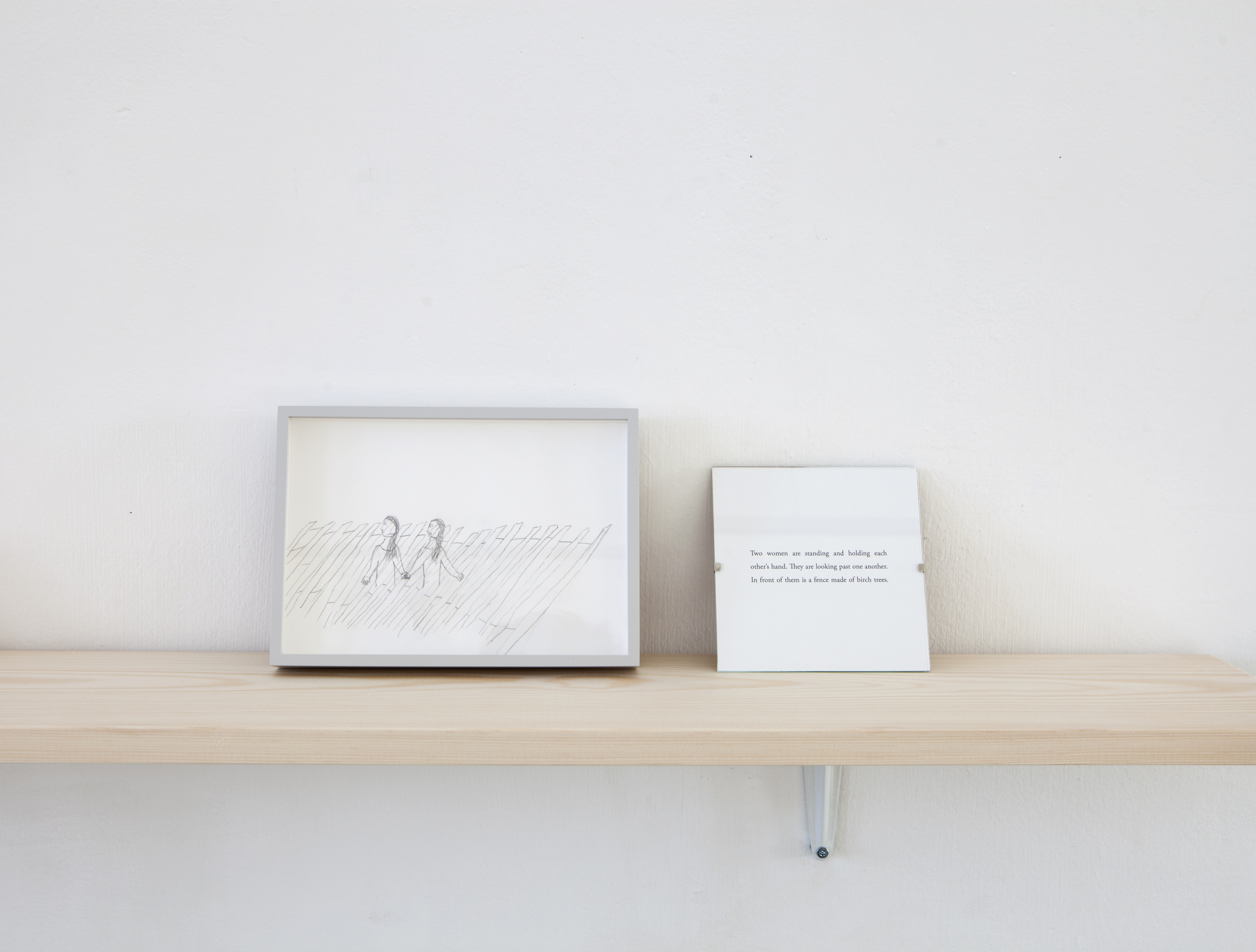 Jonna Kina,   Translations   (2015),Pencil on paper, 15.5 x 21.7cm, framed