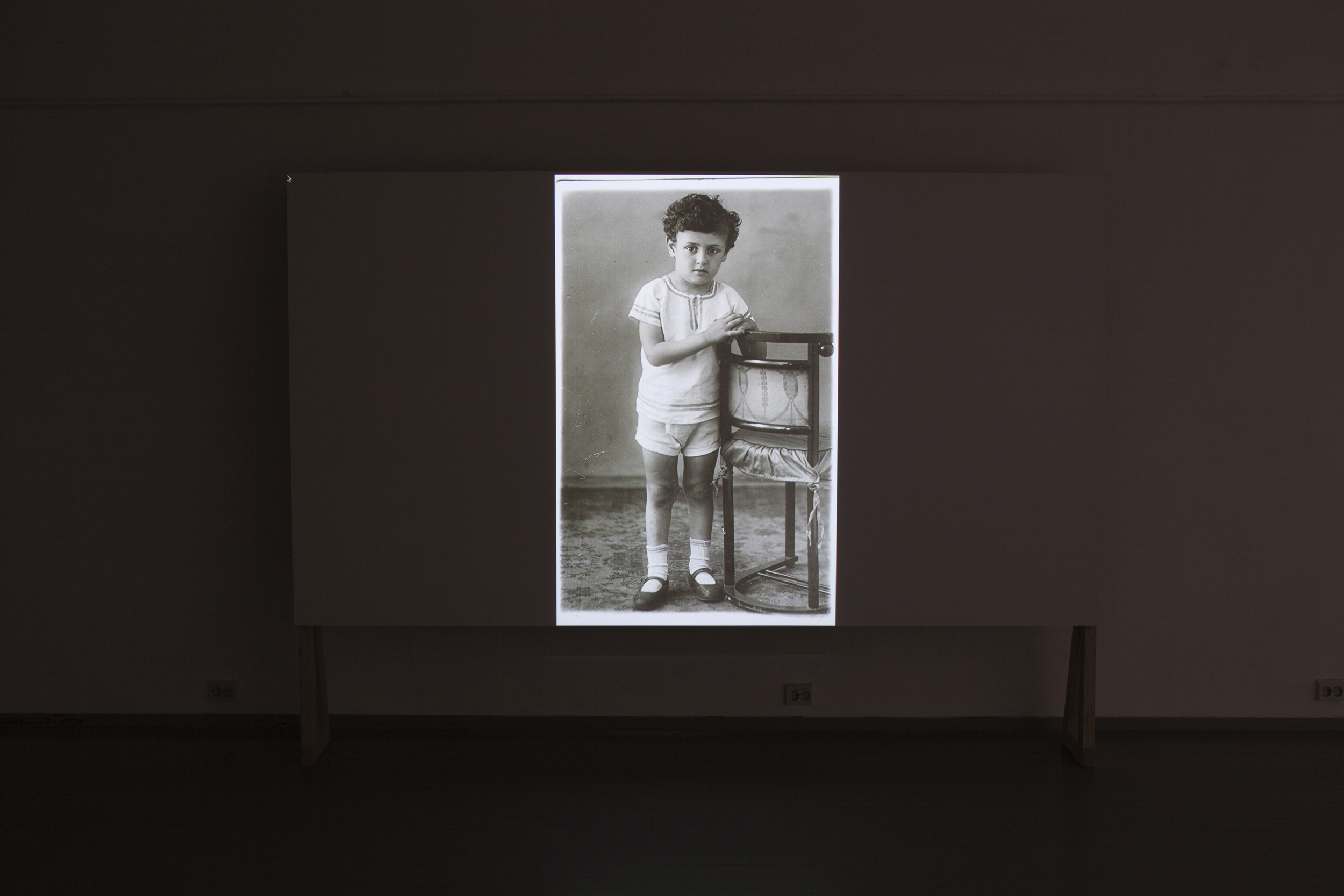 Tatiana Istomina,  Narrative machine: How we lived then  (2014),  Still imagefrom a multimedia projection