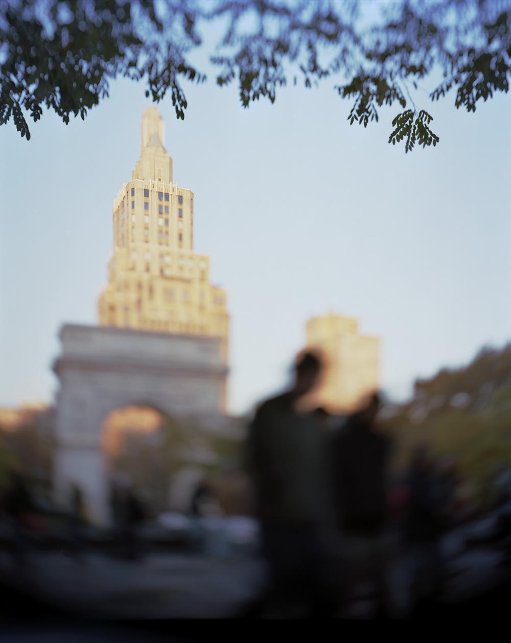 Kari Soinio: City of Ghosts, Washington Square Park, 2010.