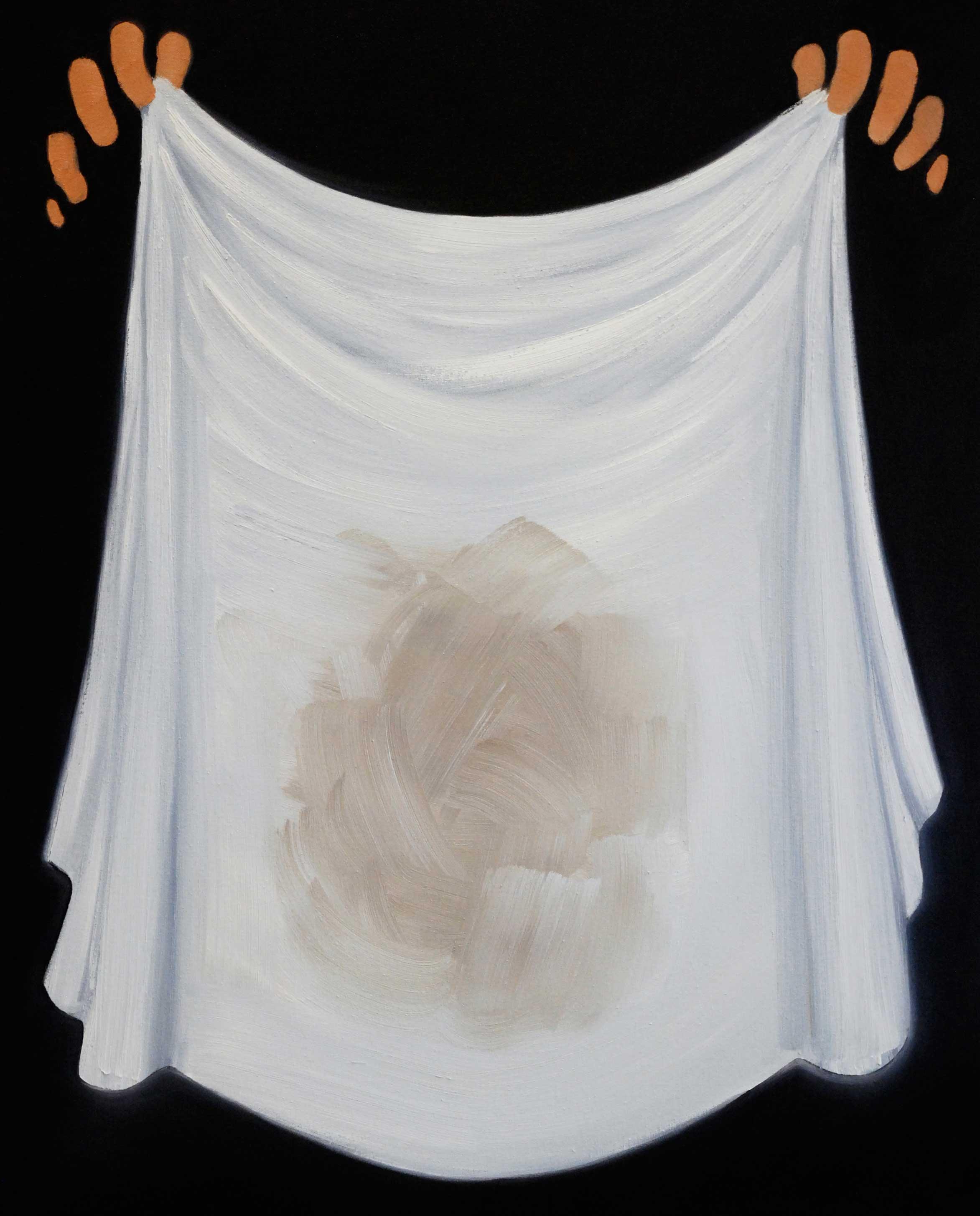 Henni Alftan: Abracadabra, 2014, oil on canvas.
