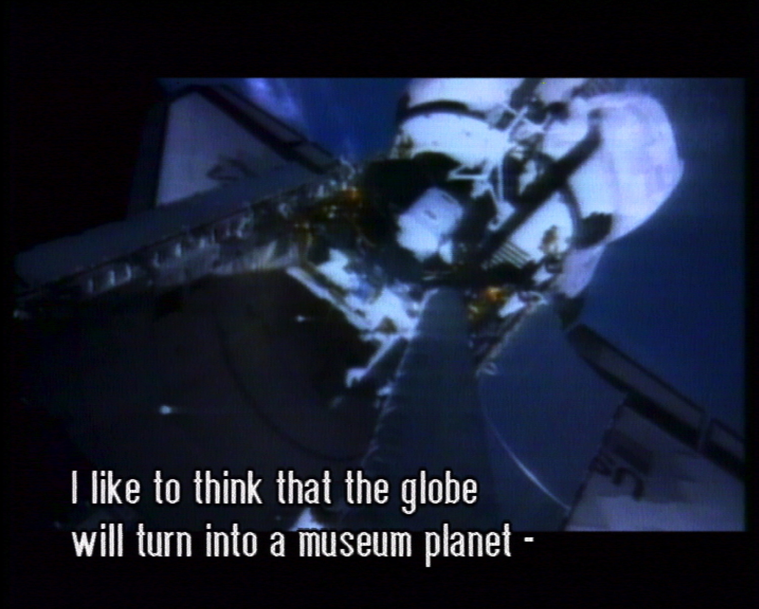 Mika Taanila,   The Future Is Not What It Used To Be  , still from video, 2002 . As part of  The Powers That Be .