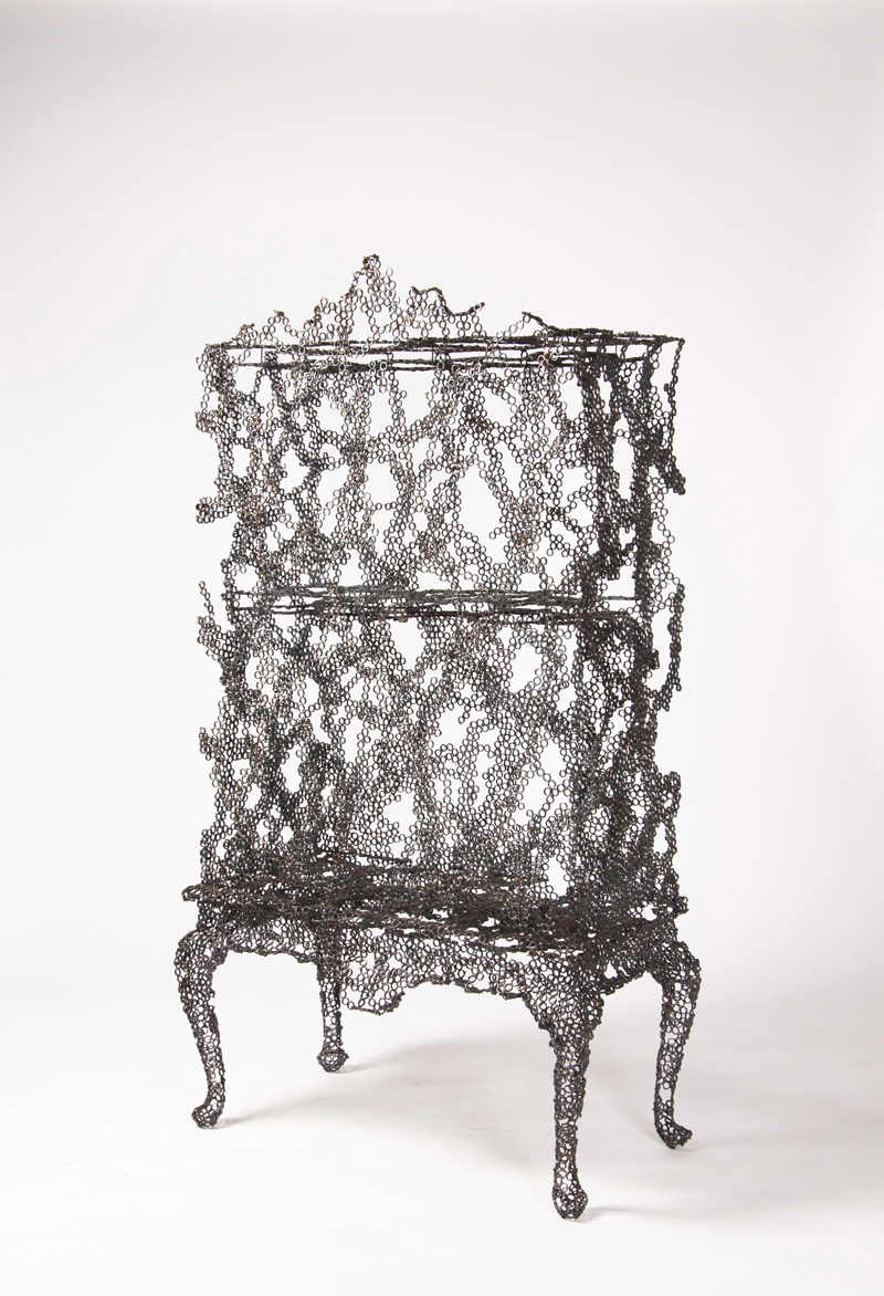 Tuomas Markunpoika: Cabinet, from Engineering Temporality series, 2012. Photo © Cooper Hewitt