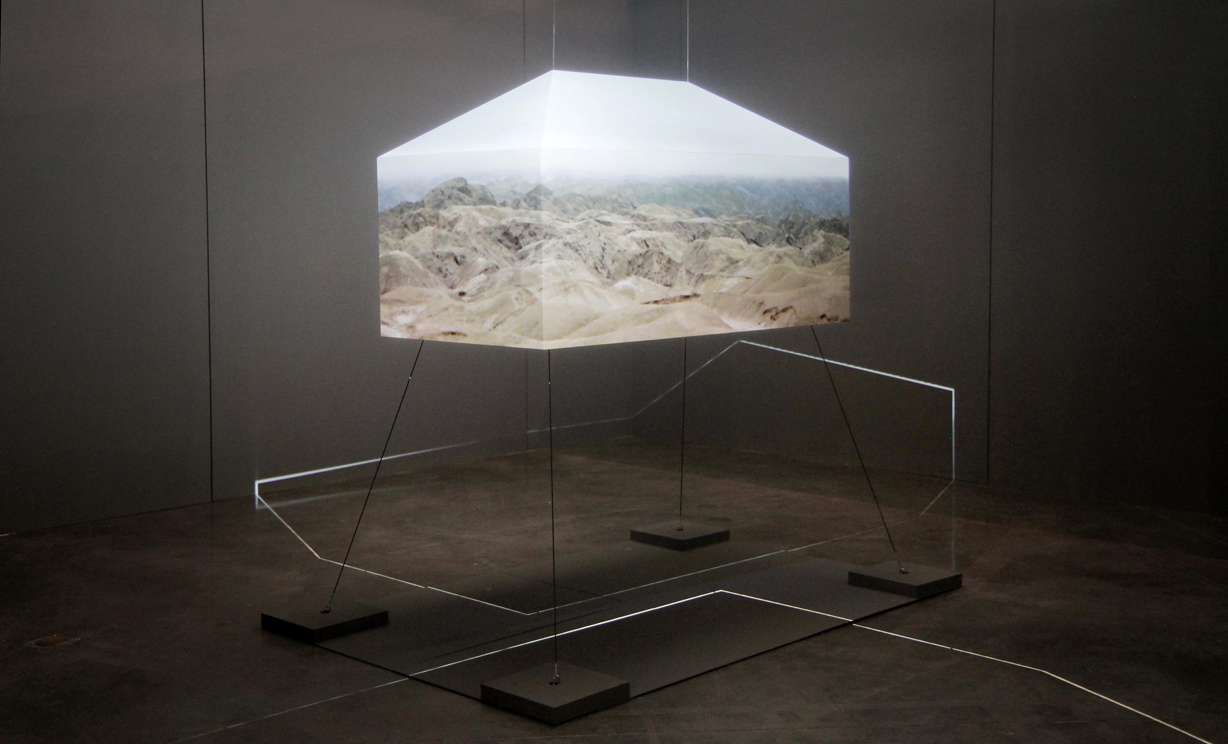 Riikka Kuoppala: And That's All I Remember. Installation image at Le Fresnoy - Studio national des arts contemporains, 2015. Photo: Riikka Kuoppala