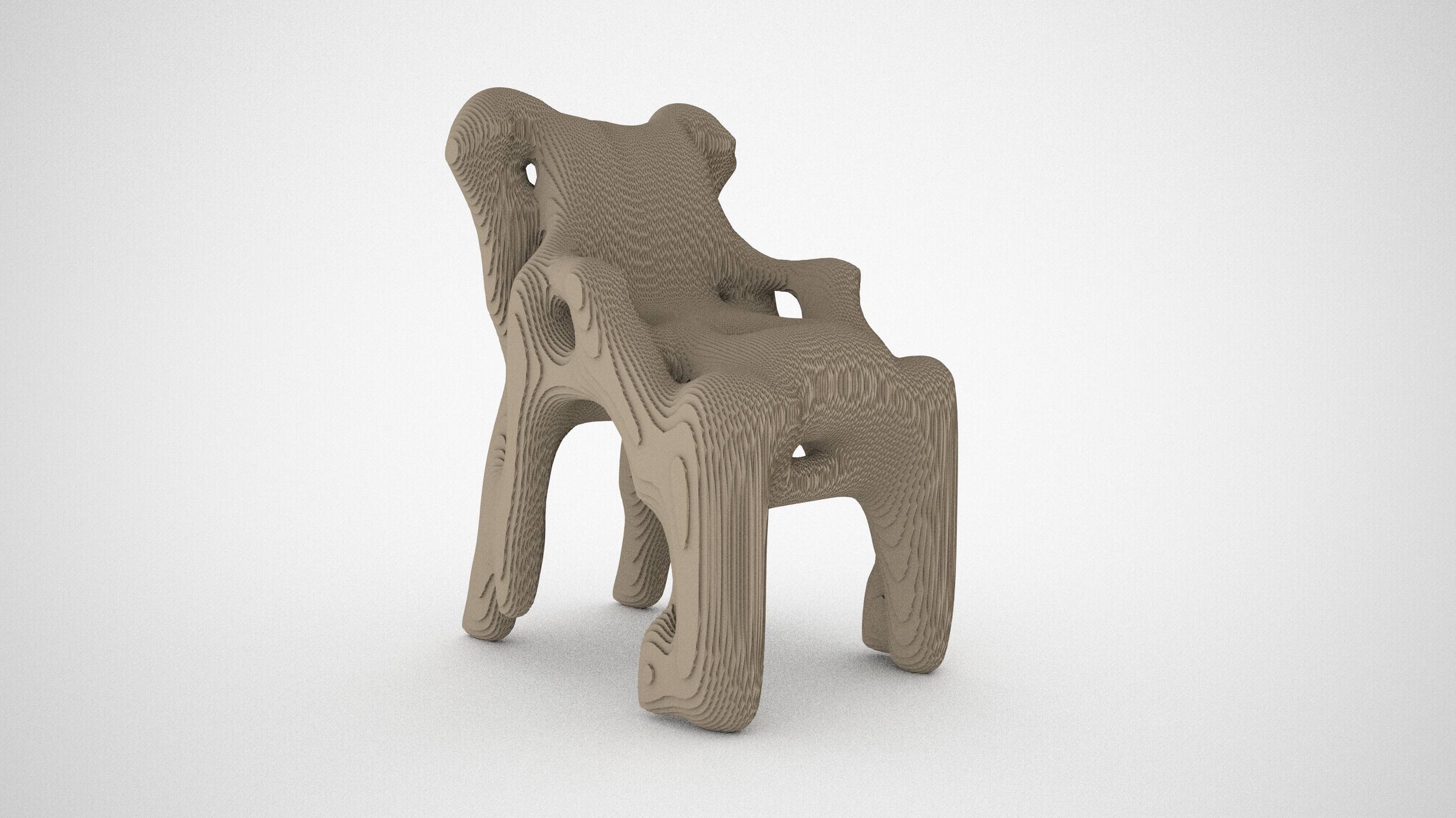 Teemu Seppänen: Mygenchair, experimental design application for generating chairs by an adaptation of the eigenface algorithm over a database of 25 classic chairs, 2012.