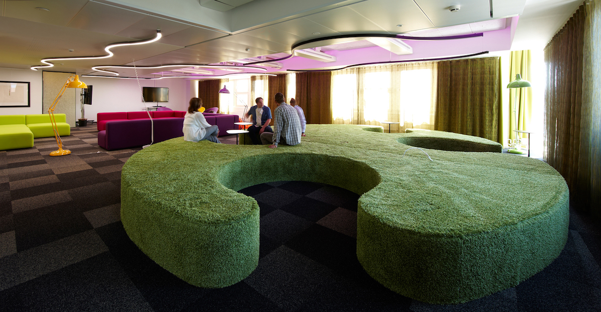 Design Studio Jouni Leino, TeliaSonera Business Finland office, 2012.