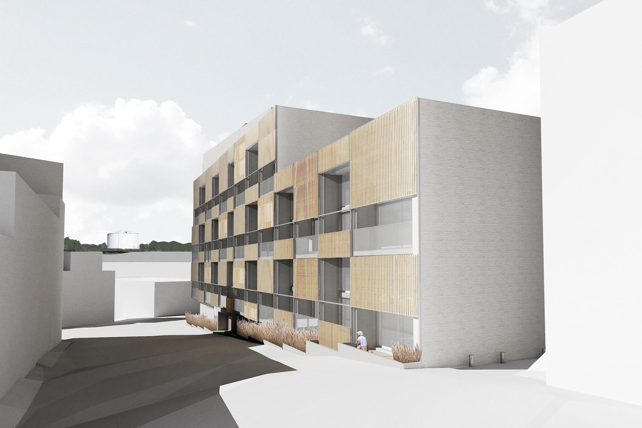 Anu Tahvanainen is planning a neo-loft block, which will be finished in Kruunuvuorenranta, Helsinki. Courtesy Anu Tahvanainen
